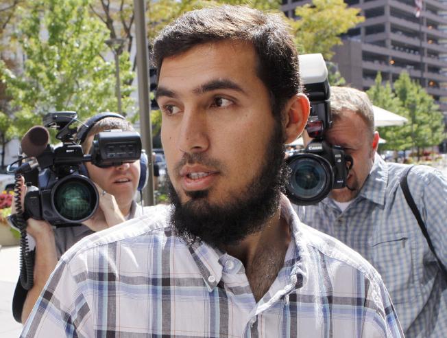 纽约地铁攻击阴谋嫌犯萨齐被判十年徒刑。美联社