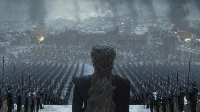 「冰与火之歌:权力游戏」完结篇能否再破收视纪录?答案即将揭晓。图/HBO提供
