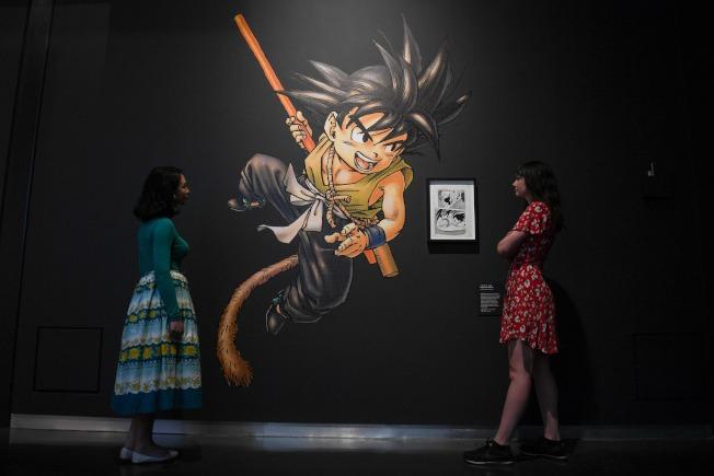 广为海内外人知的《七龙珠》,在90年代中后随着漫画与电视动画的传播,《七龙珠》在欧美掀起一股热潮,至今仍历久不衰。 (Getty Images)
