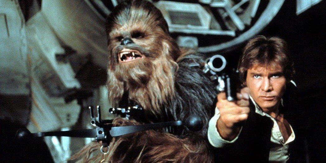 「星际大战」系列中丘巴卡是韩索罗的最佳搭档。图/摘自imdb