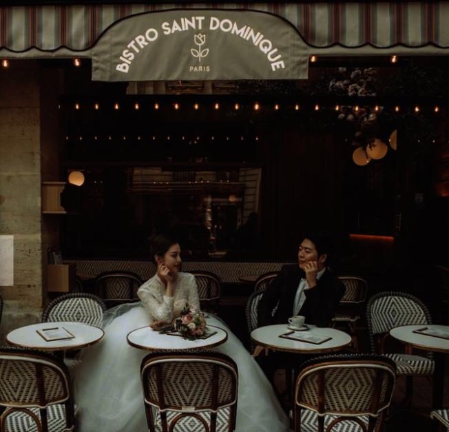 郎朗在巴黎举办婚礼。 (取自郎朗微博)
