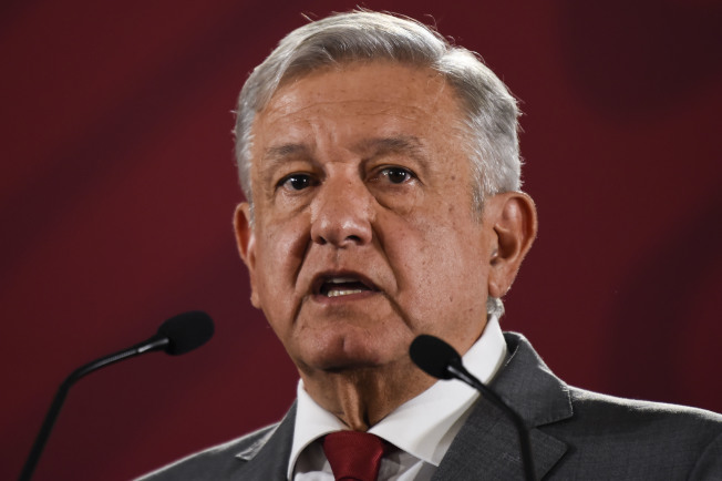 墨西哥总统罗培兹吁川普冷静。 (Getty Images)
