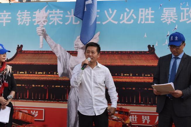 刘建国认为当时的六四镇压,也把中共自己推向悬崖边。 (记者颜嘉莹/摄影)