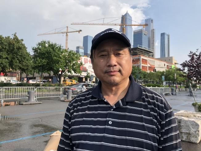 王军涛认为,如果没有89年的镇压,中国可以避免如此代价。 (记者颜嘉莹/摄影)