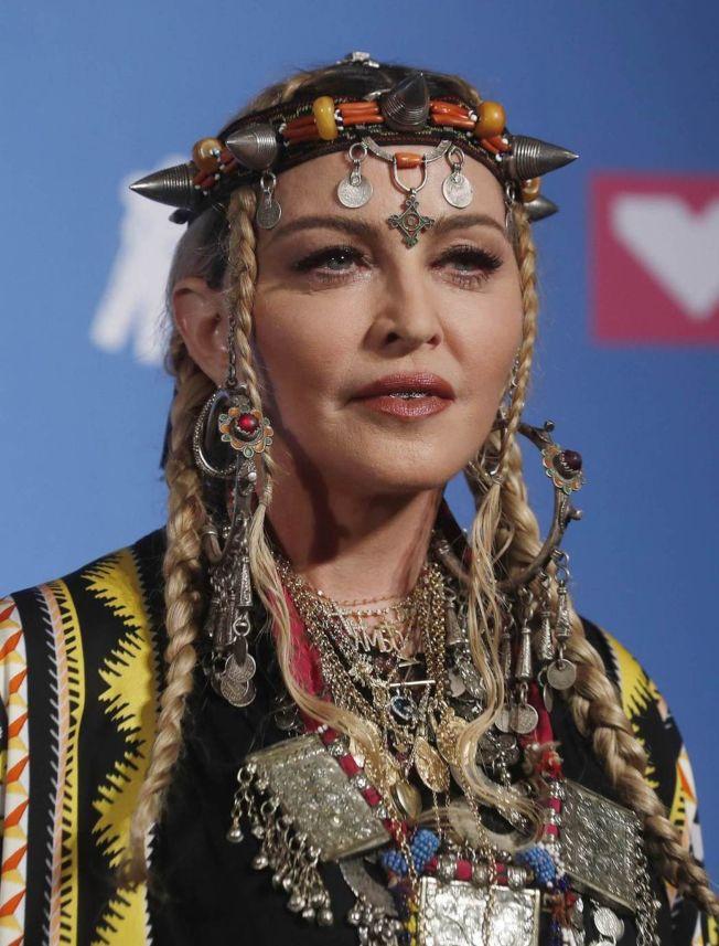 玛丹娜出道多年,靠表演累积丰厚身家。 (路透资料照片)