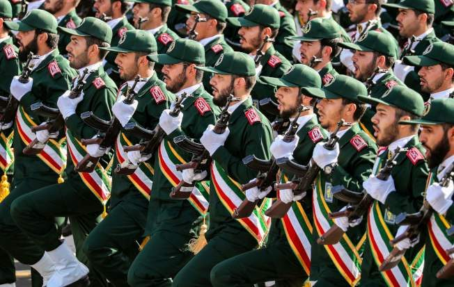 FILES IRAN MILITARY PARADE UNREST GUARDS