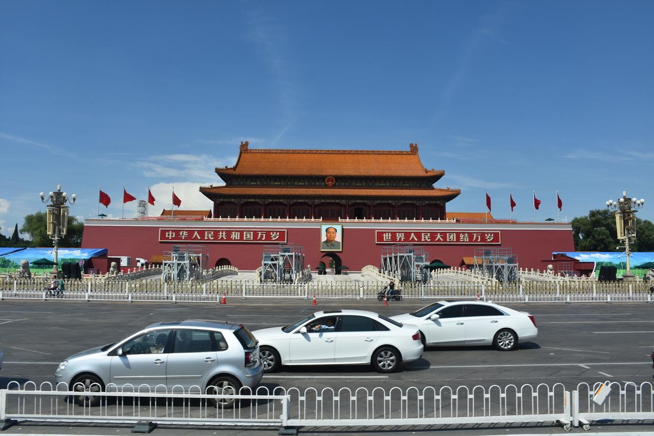 北京天安門。圖/聯合報系資料照。