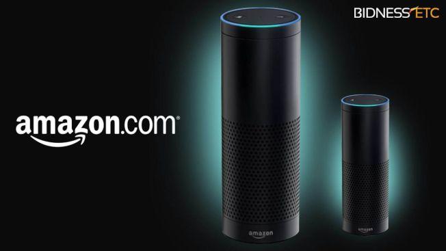 亞馬遜的揚聲器Echo在2016年底走紅預計科技公司會一窩蜂出現類似設計。(取材自amazon.com)