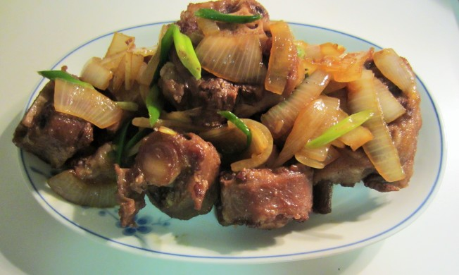 2.(二) 陳皮黑豆牛尾湯(一湯兩味)