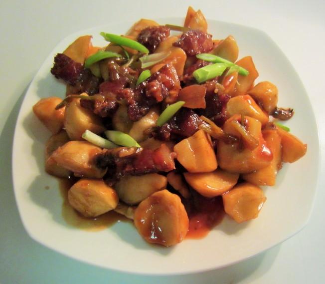 1.(一) 臘肉煮茨菇