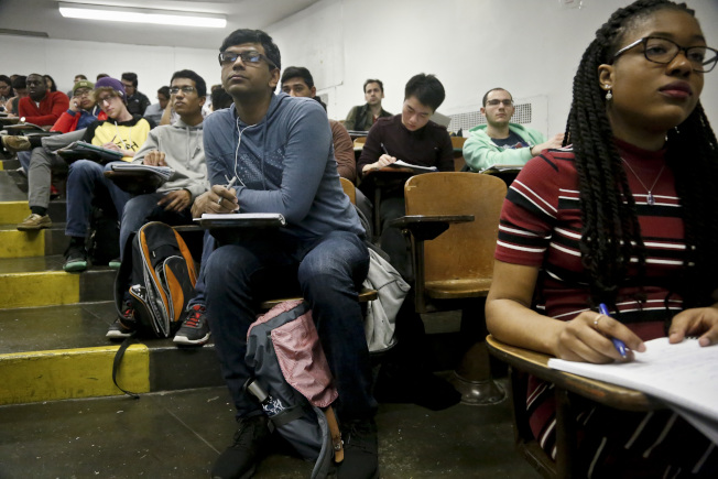 免費上大學的州,對學業成績有一定要求。(美聯社)