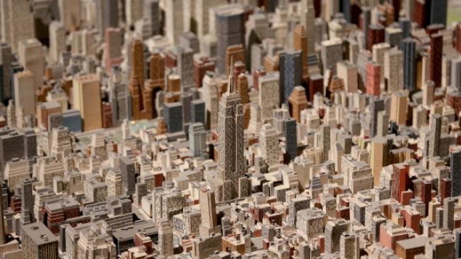 紐約市皇后美術館(Queens Museum)有個世界上最大、最壯觀的城市微縮模型。(Getty Images)
