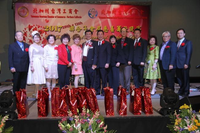 北加州台灣工商會與北加州台灣青商會舉行聯合年會及慈善籌款晚宴。(記者李榮/攝影)