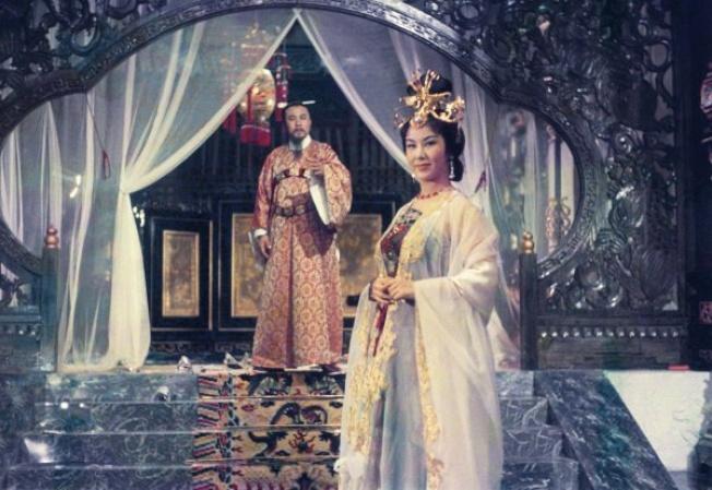 李麗華主演的「楊貴妃」曾在坎城影展上獲獎。(摘自mask9)