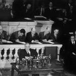 1945年3月1日:美參與「雅爾達會議」制定