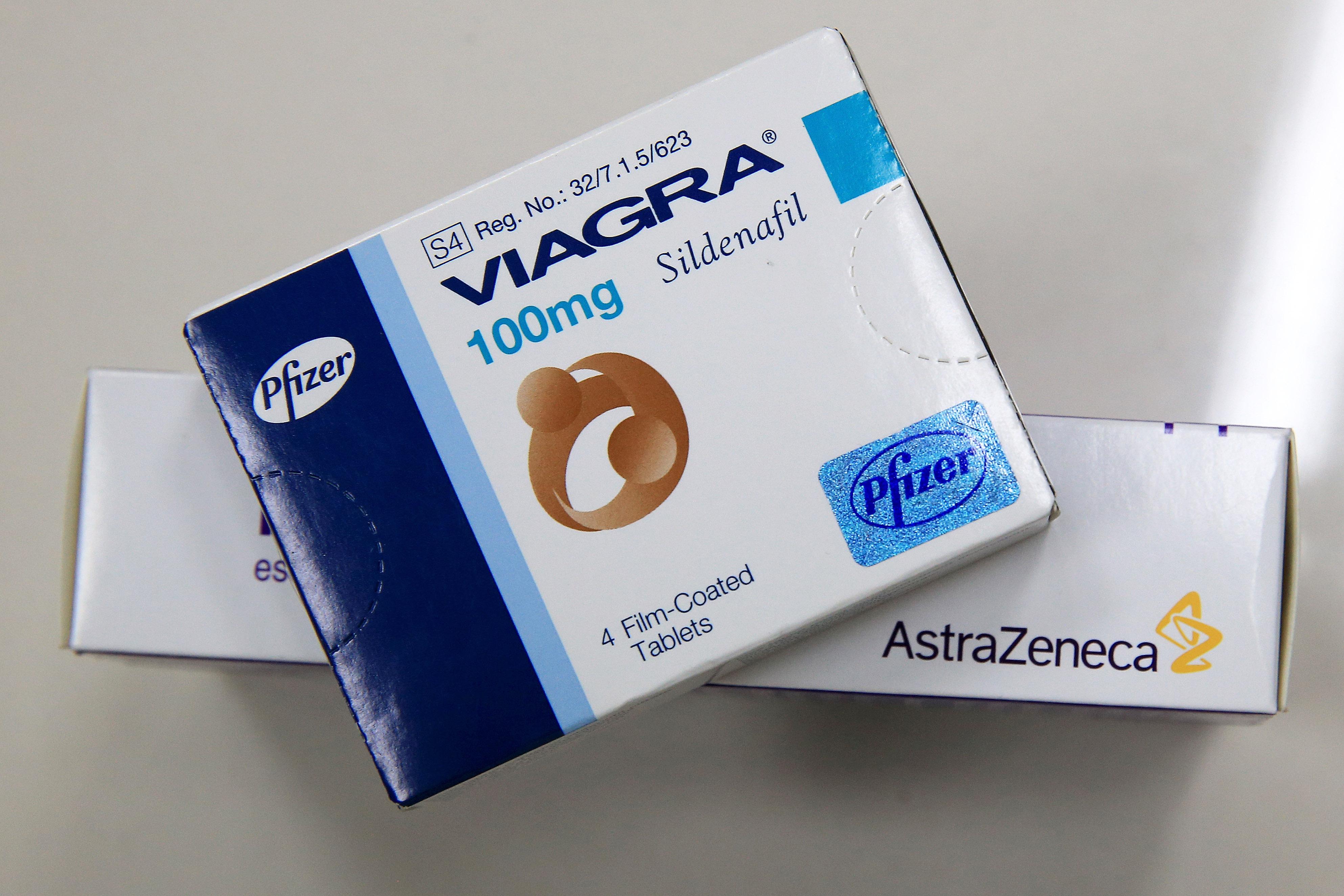 「偉哥」(Viagra)。圖:Getty Images