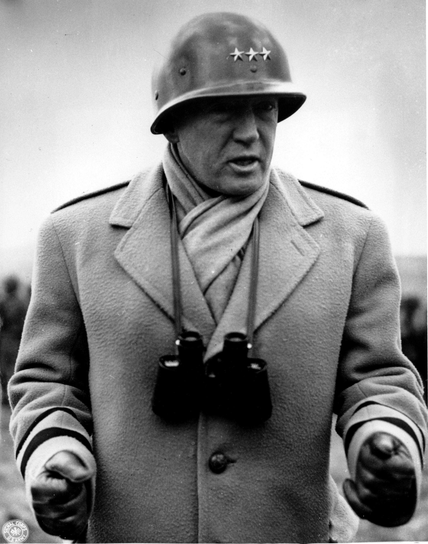 圖6:巴頓將軍(George Smith Patton, Jr.)四星上將。