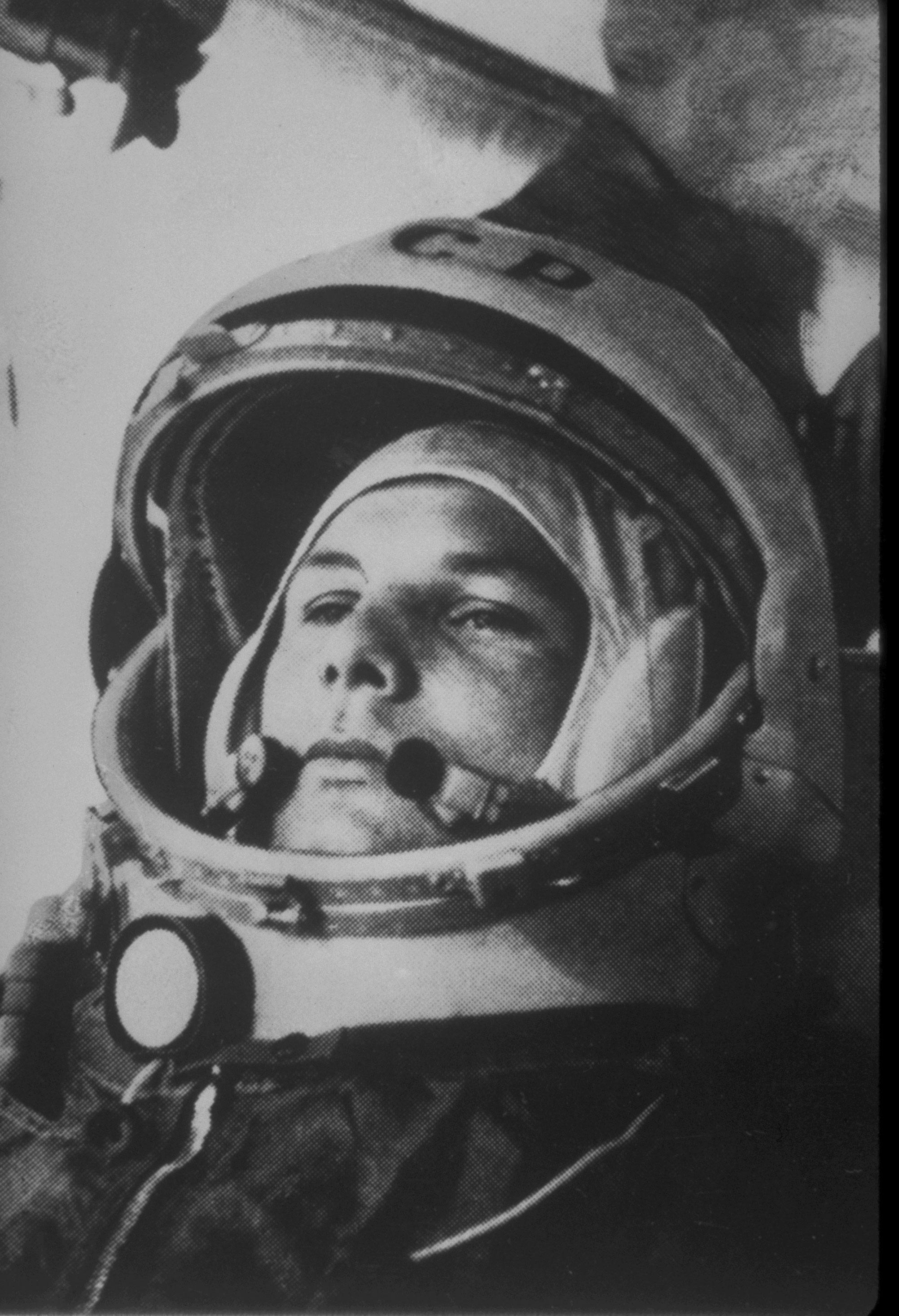 蘇聯加格林為史上第一個進入外太空的太空人。(美聯社)