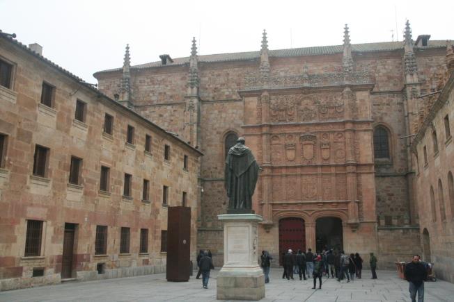 莎拉曼卡大學是西班牙最古老的高等學府。