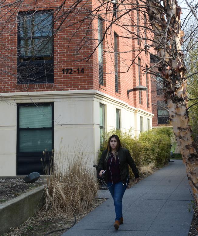 聖若望大學的學生公寓。(記者許振輝/攝影)