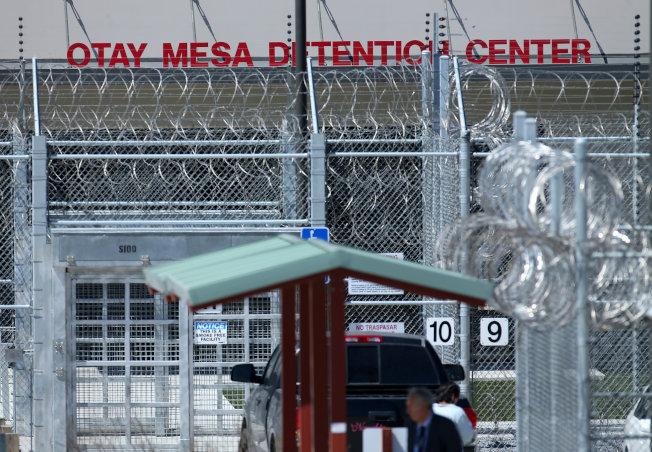 無證移民被捕、關押後,將很快被遣返。(路透)