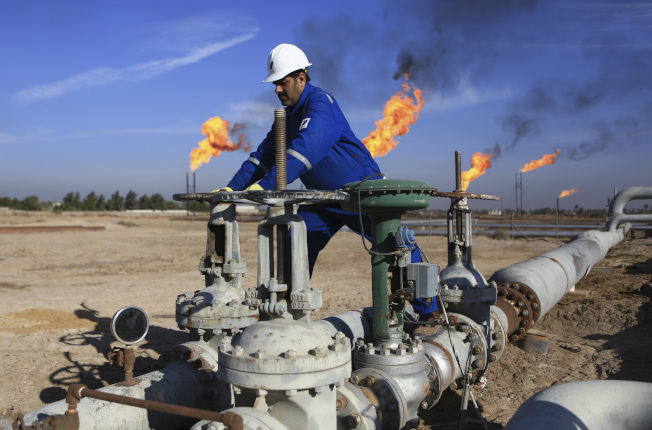原油價格漲幅創去年12月以來的新高。(美聯社)