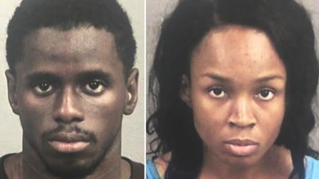 聖利安曲17日傳出有一對情侶試圖在麥當勞速食店內槍殺11個月大的嬰兒,員警表示,嫌犯當時已開一槍,但並未擊中。(圖取材自ABC News)