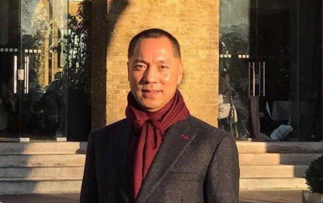 中國富商郭文貴。圖擷自中國茉莉花革命