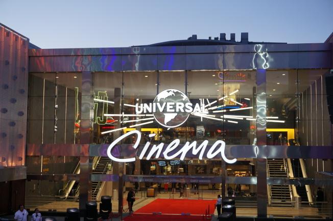 萬達旗下全美最豪華AMC影院正開放。(記者馬雲/攝影)