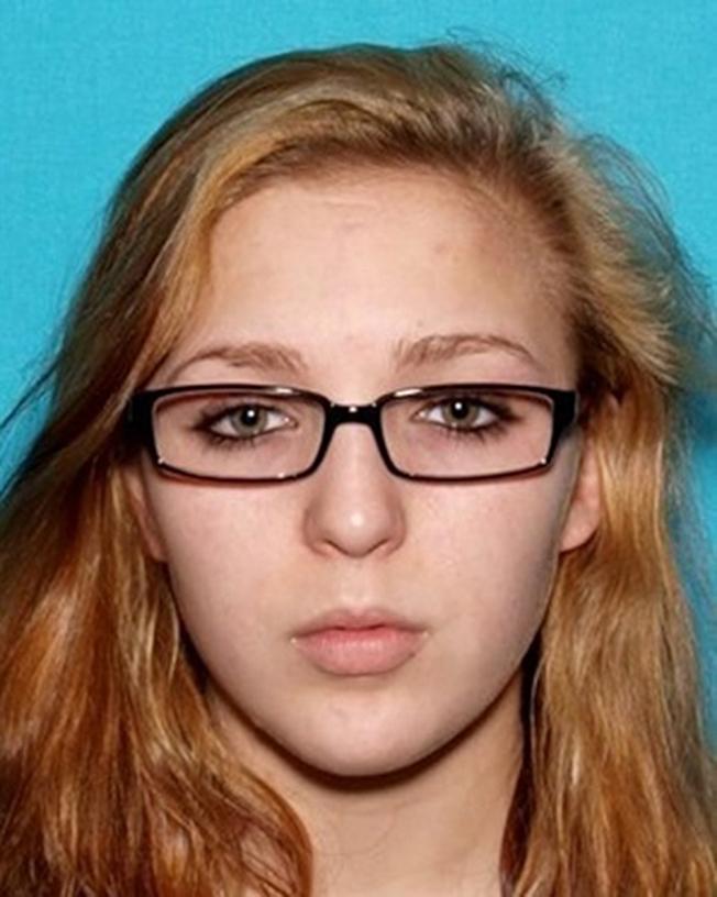 田納西州一對失蹤師生20日在加州被尋獲。圖為15歲的受害女學生伊麗莎白‧湯瑪斯。(美聯社)