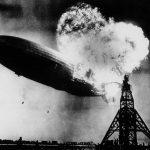 1937年5月6日 德國「興登堡號」飛船抵美、爆炸