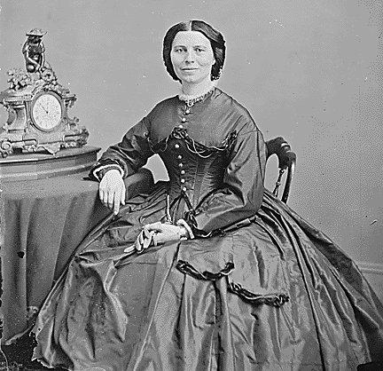美國紅十字會創立者及首任會長Clara Barton。(History.com)