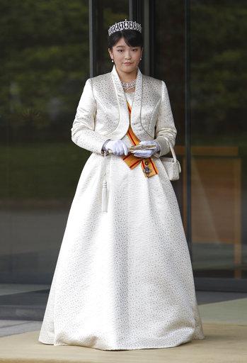 日皇明仁的長孫女真子公主將與大學同學結婚。 美聯社