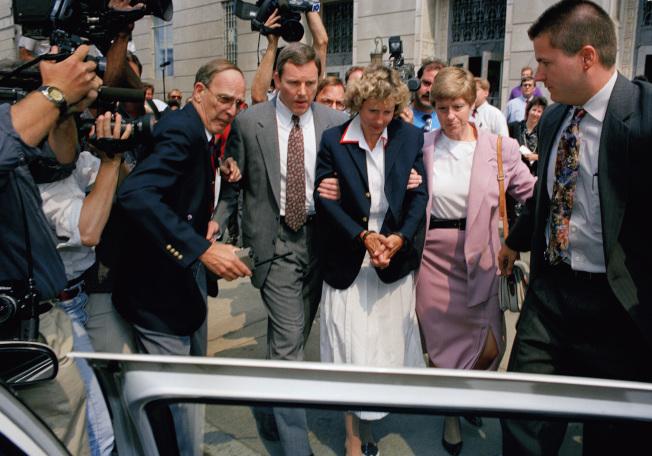 Irene  Seale 1992年6月30日出庭。(美聯社)