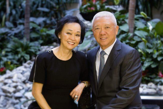 熊貓快餐創始人程正昌、莊珮琪夫婦捐款3000萬元給加州理工學院醫療工程學院。(加州理工提供)