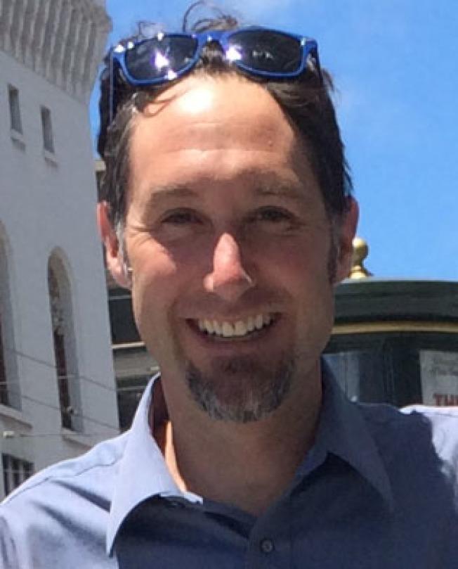 麥道克斯表示,中國小藍車已經被舊金山政府叫停。(北美共享單車協會/提供)
