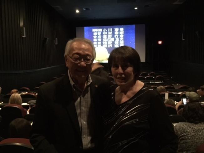 周耀偉夫婦出席「任務控制室」紀錄片首映。(石麗東/攝影)