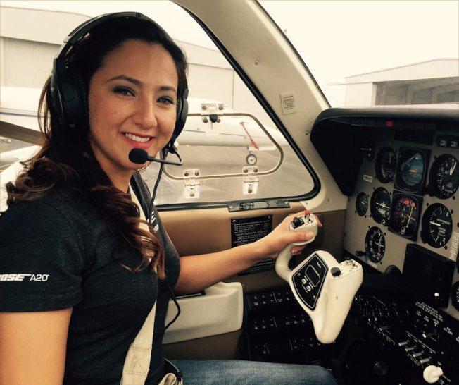 美籍阿富汗裔女飛行員瓦茲。圖擷自dreamssoar