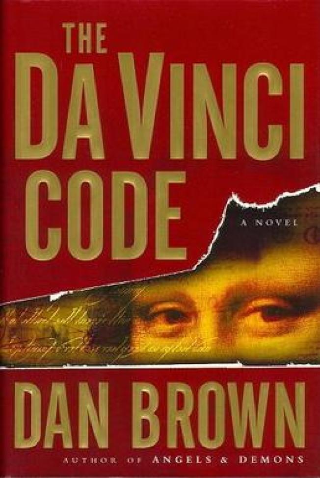 「達文西密碼」原著。(網路圖片)