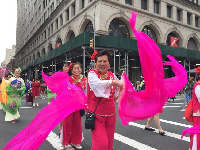 本次活動為歷年來最多華人團體參加的一次。(記者顏嘉瑩/攝影)