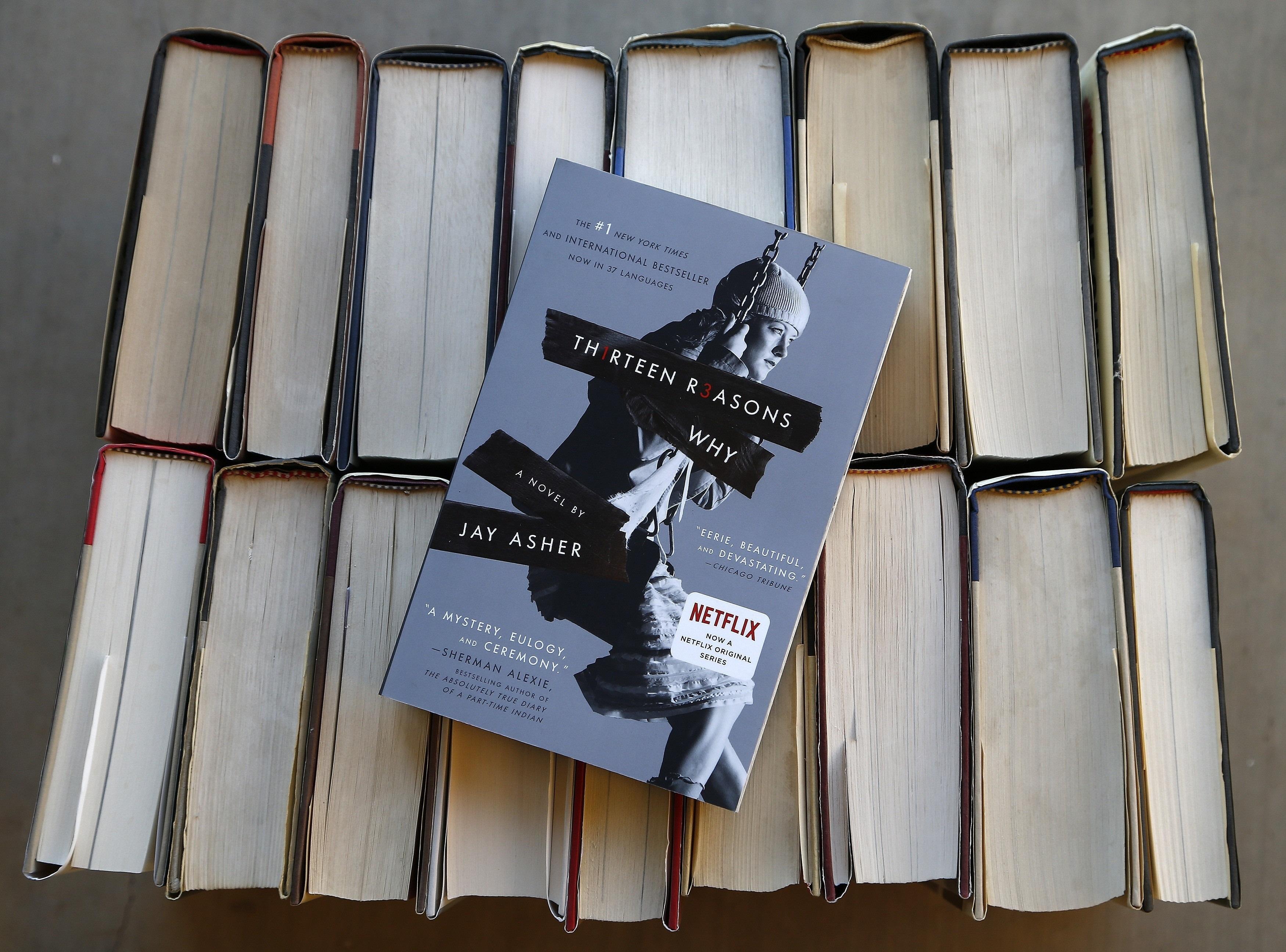 圖為知名電視劇「漢娜的遺言」2007年出版的同名原著小說。(美聯社)