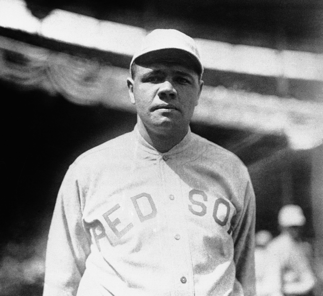 1919年,美國職棒傳奇貝比‧魯斯 (Geroge Herman