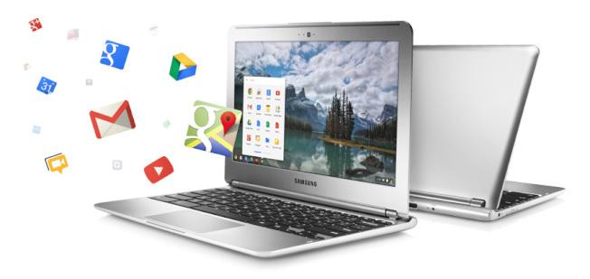 谷歌的Chromebook,低價打進美國中小學。(取自谷歌官網)
