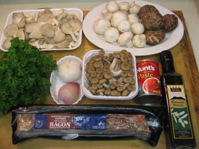 茄汁菇菇醬義大利麵3
