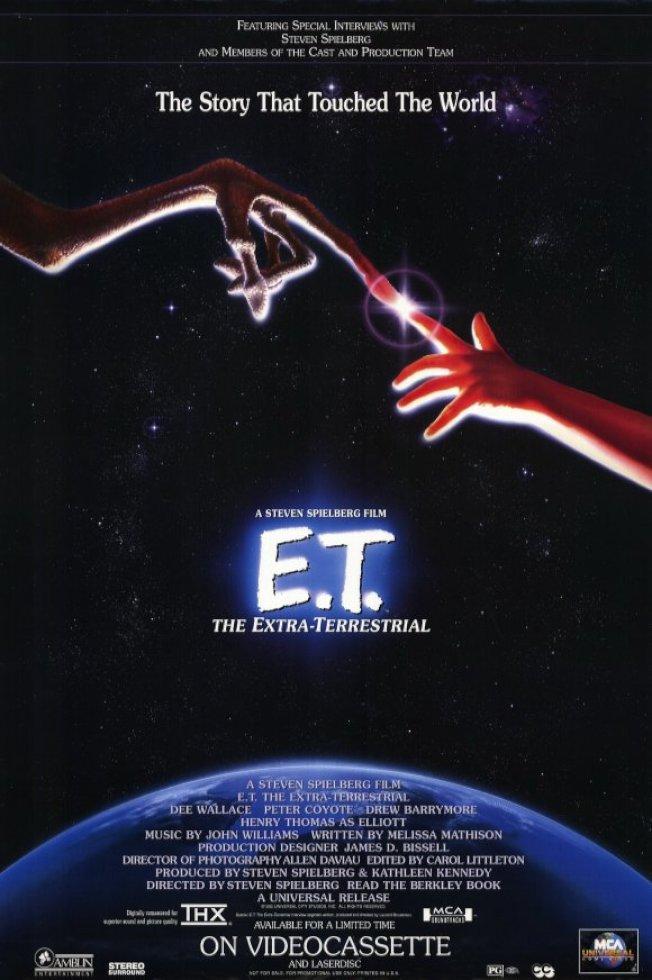 「E.T.外星人」海報。(網路照片)