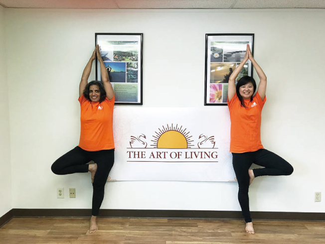 華體會推出免費瑜伽課程。(華體會提供)