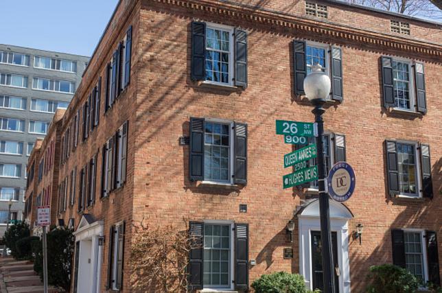 Foggy Bottom為華盛頓特區租金最貴社區,兩臥單位月租4620元。(Getty images)