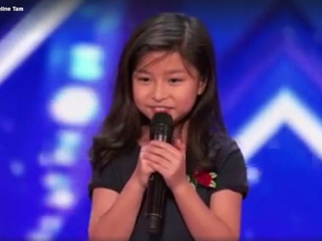 譚芷昀參加美國達人秀,受到觀眾喜愛。(取自網路)