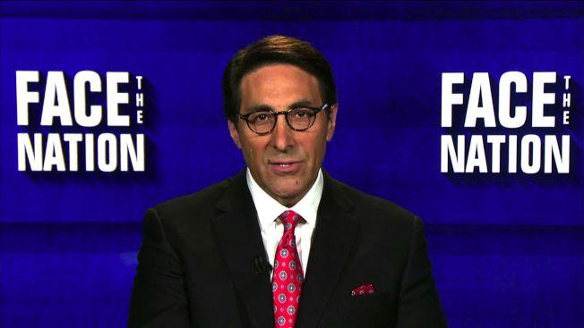 川普總統的律師塞庫洛在哥倫比亞廣播公司政論節目「面對全國」說:「總統沒被調查。」(CBS News)