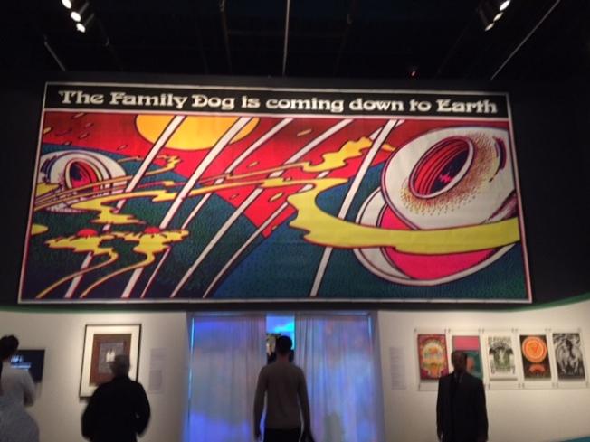 卻特.漢姆斯經營的Family Dog樂團廣告看版。